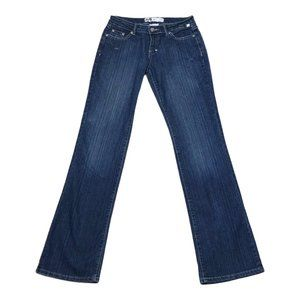 Mecca Femme Jeans Womens Bootcut Stretch Jeans 3/4